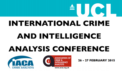 International Crime and Intelligence Analysis Conference 2015